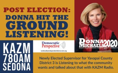 Donna Hits the Ground Listening!