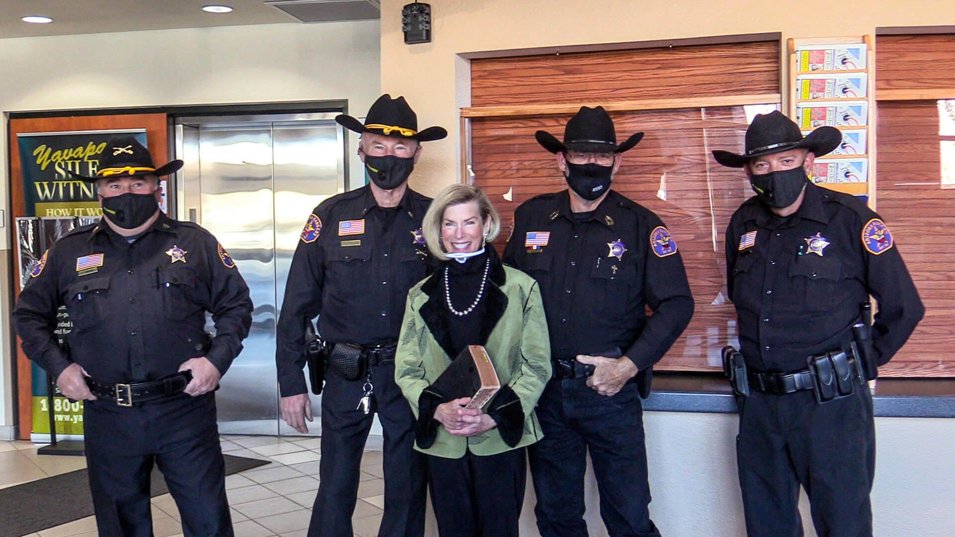 Supervisor Donna Michaels and Arizona Rangers, Verde Valley Company 17
